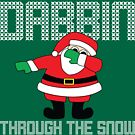 Santa Dabbin' Through The Snow by thehiphopshop