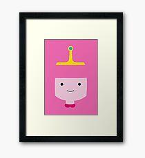 Princess Bubblegum - Adventure time! Framed Print