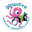 Glowdive Octopus Blue caption by Carlos Villoch