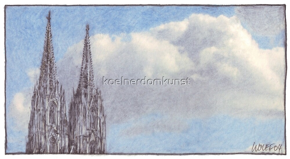 A heavenly Cologne cathedral by koelnerdomkunst