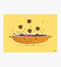 MEATBALLS! Photographic Print