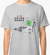 GBMO, The Retrogames Lover Classic T-Shirt