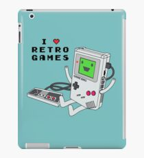 GBMO, The Retrogames Lover iPad Case/Skin