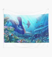 Poke Marine Biology Wall Tapestry