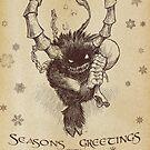 Seasons Greetings from Krampus by Dan Goodfellow