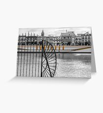 Streets of Seville - Calle Betis Greeting Card