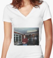 OO-2 Women's Fitted V-Neck T-Shirt