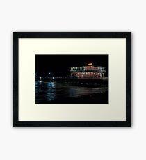 Jimmy's on the ocean Framed Print