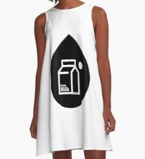 Milk - (Black) A-Line Dress