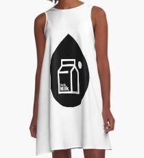 Milk - (Black) A-Line Dress