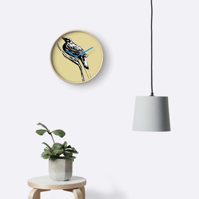 Long tailed blue bird 4 by Thecla Correya