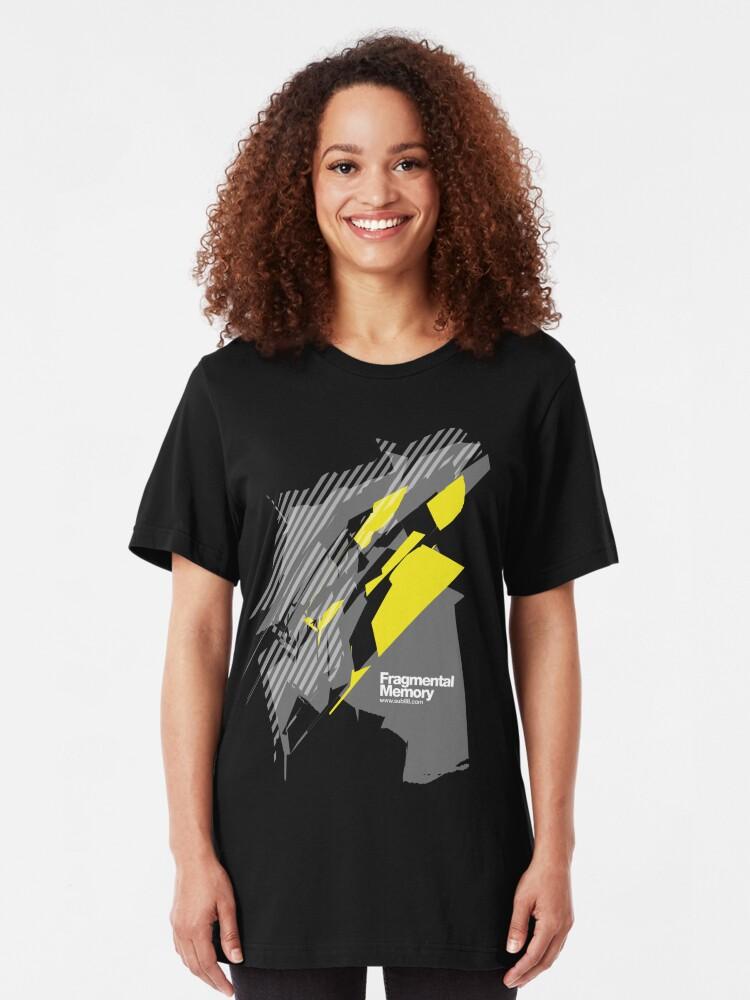 Alternate view of Fragmental Memory /// Slim Fit T-Shirt