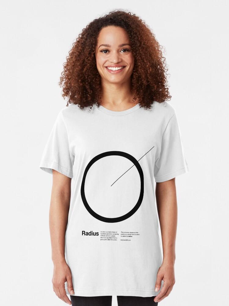 Alternate view of Radius / Slim Fit T-Shirt