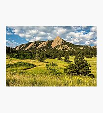Delicious Vanilla Clouds On A Summer Chautauqua Morning Photographic Print
