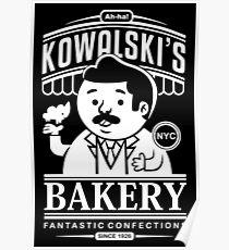 Kowalski's Bakery Poster
