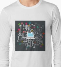 Science the computer Long Sleeve T-Shirt