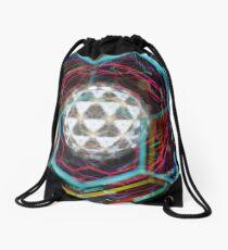 Colorful Kaleidoscope Drawstring Bag
