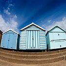 Felixstowe Beach Huts by JRMGallery