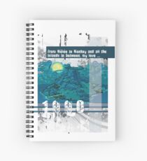 """Monkey Island's: """"From Melee to Monkey and all the islands in between, my love..."""" Spiral Notebook"""