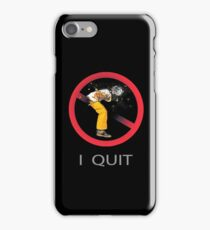 Quit Smoking and Coughing iPhone Case/Skin