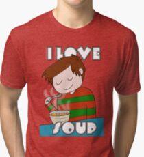 I Love Soup Tri-blend T-Shirt