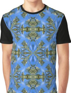 Locust Flower Blossoms Abstract Graphic T-Shirt