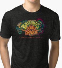 Battletoads + Double Dragon Tri-blend T-Shirt