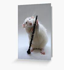My new Clarinet. Greeting Card