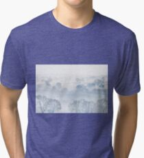 Ethereal Morning Mist Tri-blend T-Shirt