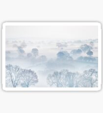 Ethereal Morning Mist Sticker