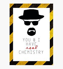 BREAKING BAD HEISENBERG Real Chemistry Photographic Print