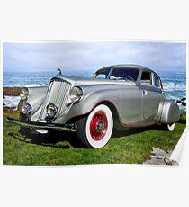1933 Pierce-Arrow Silver Arrow Sedan Poster