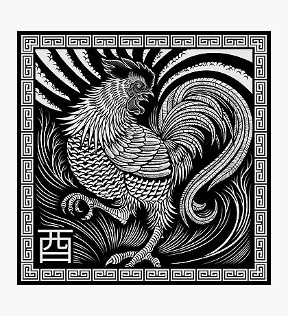 Year of the Rooster Photographic Print