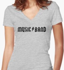 "Camiseta entallada de cuello en V Banda de música - Buscemi, ""¿cómo estás, compañeros?"""