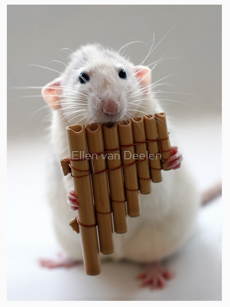 Playing the panflute. by Ellen