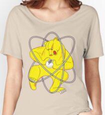 Bear Splitting Atom Women's Relaxed Fit T-Shirt