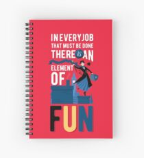 Mary Poppins Spiral Notebook