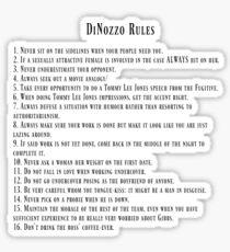 DiNozzo Rules Sticker
