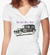 The Bulletproof Bomb Women's Fitted V-Neck T-Shirt