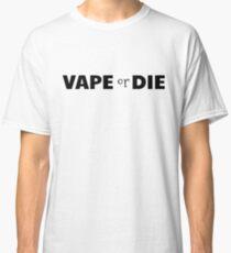 vape vaporizer smoking smoker weed funny cool vaping t shirts Classic T-Shirt