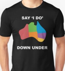 Joshua Sasse - Official Say 'I Do' Down Under Shirt Unisex T-Shirt