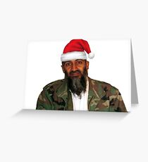 Merry Christmas! - Osama Bin Laden Greeting Card