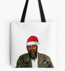 Merry Christmas! - Osama Bin Laden Tote Bag