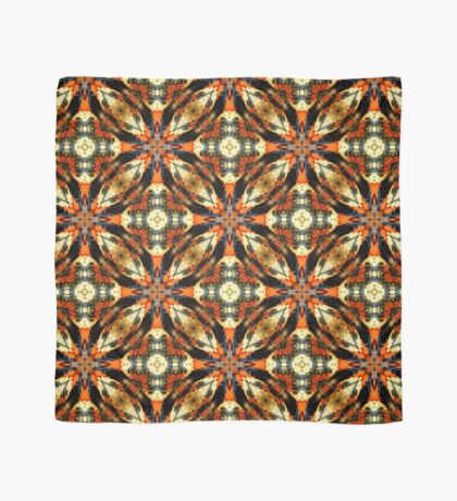 Colorful Gourds Abstract Design Scarf