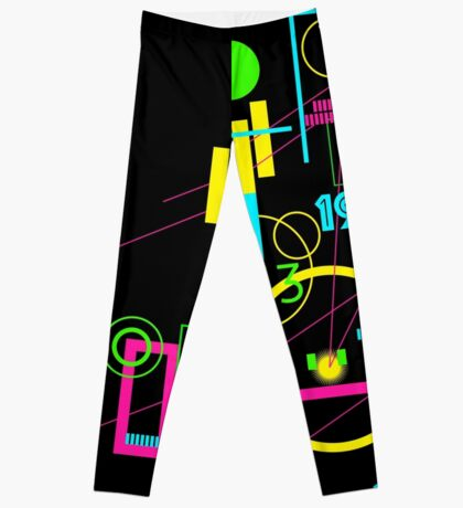 1984 Abstract Leggings