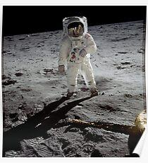 Buzz Aldrin: Posters | Redbubble