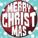 Bauble Christmas Card by Panda-Siege