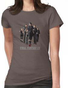 Final Fantasy XV - Black edition Womens Fitted T-Shirt