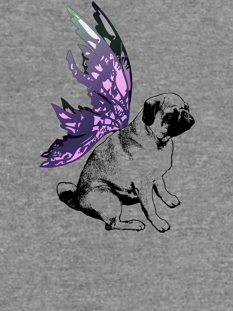Pug Fairy Life by LittleMissTyne