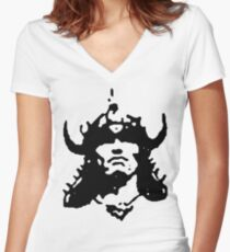conan Women's Fitted V-Neck T-Shirt